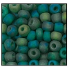 Seed Bead #2100 6/0 51060M Emerald Transparent Matt Iris (1/2 Kilo)