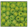 Seed Bead #2100 6/0 51430M Lime Transparent Matt Iris (1/2 Kilo)