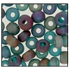 Seed Bead #2100 5/0 51710M Blue Zircon Transparent Matt Iris (1/2 Kilo) (Loose) - CLEARANCE