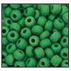 Seed Bead #2100 6/0 53250M Green Opaque Matt (1/2 Kilo)