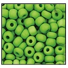Seed Bead #2100 6/0 53310M Avocado Opaque Matt (1/2 Kilo) - CLEARANCE