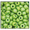 Seed Bead #2100 6/0 54310M Avocado Opaque Matt Iris (1/2 Kilo) - CLEARANCE