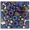 Seed Bead #2100 5/0 61100M Capri Blue Transparent Matt Iris (1/2 Kilo) (Loose) - CLEARANCE