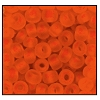 Seed Bead #2100 11/0 90030M Dark Orange Transparent Matt (1/2 Kilo) - CLEARANCE