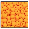 Seed Bead #2100 6/0 93110M Light Orange Opaque Matt (1/2 Kilo) - CLEARANCE