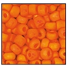 Seed Bead #2100 11/0 94140M Orange Opaque Matt Iris (1/2 Kilo) - CLEARANCE