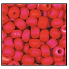 Seed Bead #2100 6/0 94190M Red Opaque Matt Iris (1/2 Kilo) - CLEARANCE