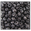Seed Bead #2100 6/0 Z239H Black Silver Metallic Dust (1/2 Kilo)