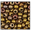 Seed Bead #2100 11/0 01610 Gold Metallic Iris (1/2 Kilo) - CLEARANCE