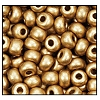 Seed Bead #2100 6/0 01710 Light Gold Metallic Matt (1/2 Kilo)
