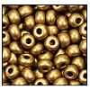 Seed Bead #2100 6/0 01720 Yellow Gold Metallic Matt (1/2 Kilo) - CLEARANCE