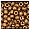 Seed Bead #2100 6/0 01740 Dark Gold Metallic Matt (1/2 Kilo) - CLEARANCE