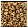 Seed Bead #2100 11/0 18304 Light Gold Metallic (1/2 Kilo)