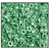 Seed Bead #2100 11/0 18558 Light Green Metallic (Terra) (1/2 Kilo)
