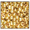 Seed Bead #2100 11/0 18583 Yellow Gold Metallic (Terra) (1/2 Kilo)