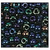 Seed Bead #2100 6/0 59135 Blue Iris Metallic (1/2 Kilo) (LOOSE) - CLEARANCE