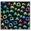 Seed Bead #2100 11/0 59155 Green Iris Metallic (1/2 Kilo)