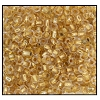 Seed Bead #2100 11/0 68104 Crystal 24K Gold Lined (1/2 Kilo) (LOOSE) - CLEARANCE