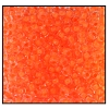 Seed Bead #2100 10/0 08789 Neon Orange Lined (1/2 Kilo)