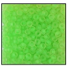 Seed Bead #2100 10/0 38756 Neon Green Transparent (1/2 Kilo)