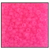 Seed Bead #2100 10/0 38777 Neon Pink Transparent (1/2 Kilo)
