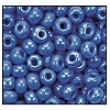 Seed Bead #2100 11/0 34020 Light Blue Opaque Iris (1/2 Kilo)