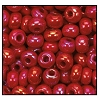 Seed Bead #2100 11/0 94210 Dark Red Opaque Iris (1/2 Kilo)