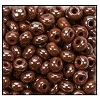 Seed Bead #2100 6/0 18600 Light Brown Opaque Luster (1/2 Kilo) (LOOSE) - CLEARANCE