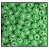 Seed Bead #2100 12/0 58210 Light Green Opaque Luster (1/2 Kilo) - CLEARANCE