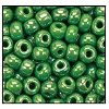 Seed Bead #2100 11/0 58230 Green Opaque Luster (1/2 Kilo)