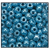 Seed Bead #2100 6/0 68050 Dark Turquoise Opaque Luster (1/2 Kilo) - CLEARANCE