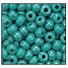 Seed Bead #2100 6/0 68130 Green Turquoise Opaque Luster (1/2 Kilo)