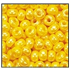 Seed Bead #2100 6/0 88130 Dark Yellow Opaque Luster (1/2 Kilo)