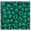 Seed Bead #2100 6/0 53240 Forest Green Opaque (1/2 Kilo)
