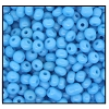 Seed Bead #2100 6/0 63030 Medium Turquoise Opaque (1/2 Kilo) (LOOSE) - CLEARANCE