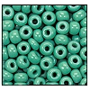 Seed Bead #2100 4/0 63130 Green Turquoise Opaque (1/2 Kilo) - CLEARANCE