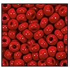 Seed Bead #2100 5/0 93210 Dark Red Opaque (1/2 Kilo) (Loose)