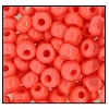 Seed Bead #2100 12/0 93520 Coral Opaque (1/2 Kilo) - CLEARANCE