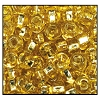 Rocailles #2155 8/0 Square Hole 17020 Straw Gold Transparent S/L (1/2 Kilo)
