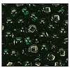 Rocailles #2155 10/0 Square Hole 57150 Medium Green Transparent S/L (1/2 Kilo) (LOOSE) - CLEARANCE