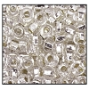 Rocailles #2150 1/0 Round Hole 78102 Crystal Transparent  S/L (1/2 Kilo) (LOOSE) - CLEARANCE