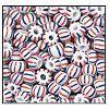 Striped Seed Bead #2500 3/0 03931 (1/2 Kilo) (LOOSE) - CLEARANCE