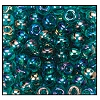 Seed Bead #2100 6/0 51710 Blue Zircon Transparent Iris (1/2 Kilo)