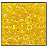 Seed Bead #2100 8/0 81010 Yellow Transparent Iris (1/2 Kilo) - CLEARANCE