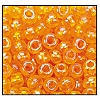 Seed Bead #2100 6/0 81060 Very Light Orange Transparent Iris (1/2 Kilo)