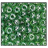 Seed Bead #2100 6/0 56100 Light Green Transparent Luster (1/2 Kilo)