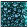 Seed Bead #2100 6/0 056710 Blue Zircon Transparent Luster  (1/2 Kilo) - CLEARANCE