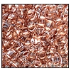 Twin Bead #2700 2.5x5mm 68105 Crystal Copper Lined (1/2 Kilo)