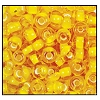 Seed Bead #2100 6/0 85016 Yellow Transparent White Lined (1/2 Kilo) - CLEARANCE