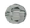 Swarovski 5000 Round Bead 10mm Black Diamond